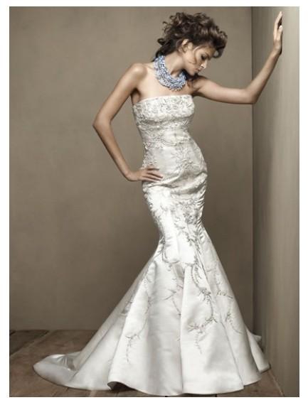 Trumpet mermaid wedding dresses for Mermaid and trumpet wedding dresses